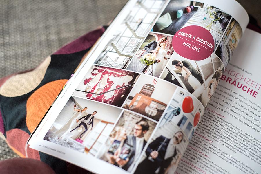 Heiraten Münster Zeitschrift - Reportage von crea pix
