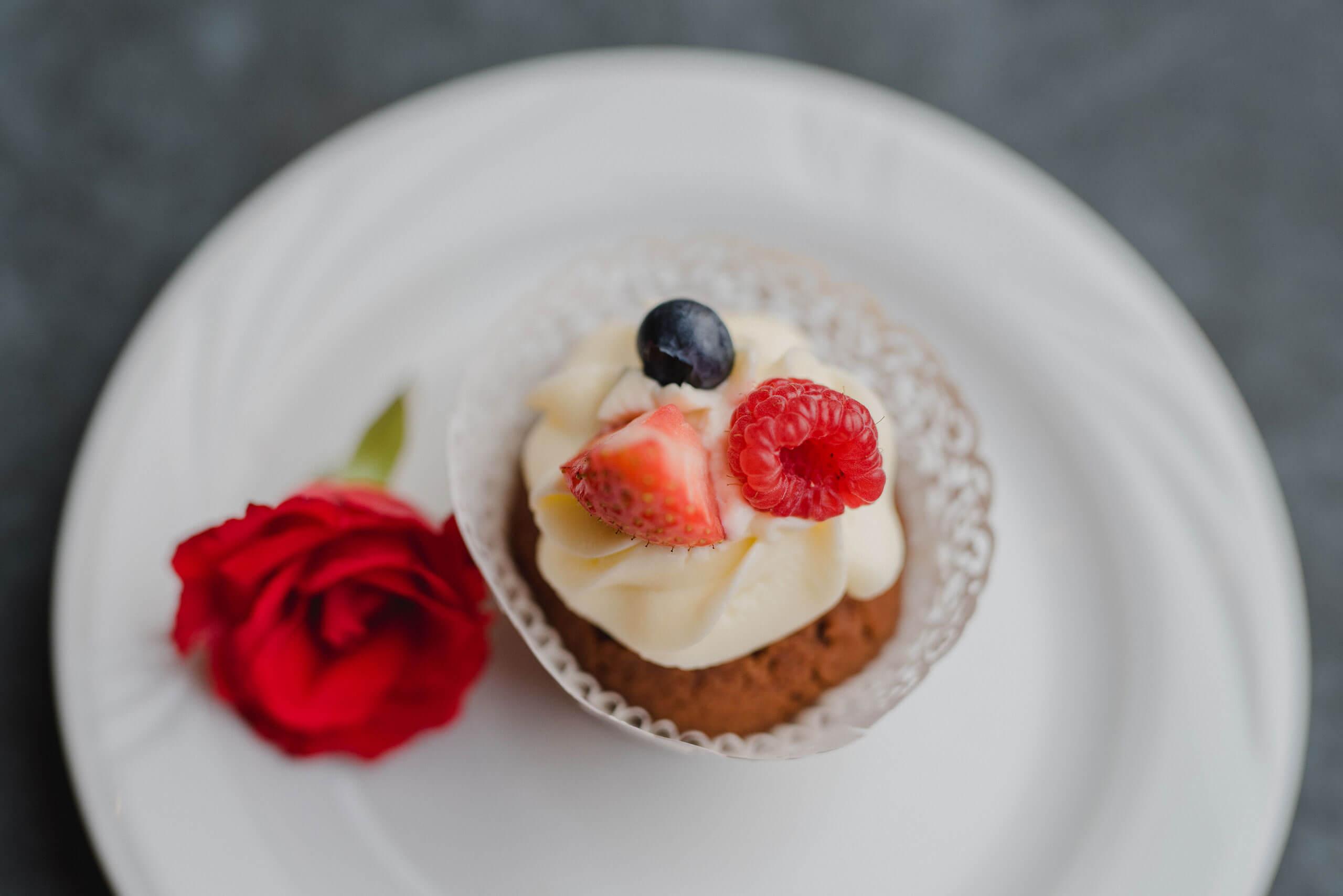 Cupcake zur Hochzeit