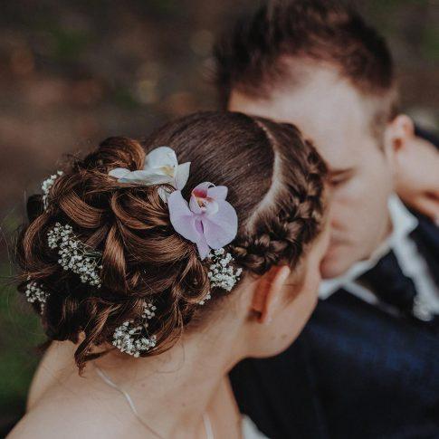 Blumenschmuck Haare