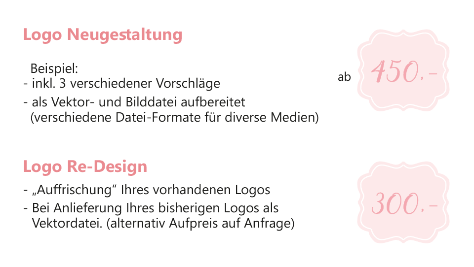Logo Design Preise