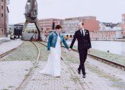 Hafen Münster Hochzeitsfotos